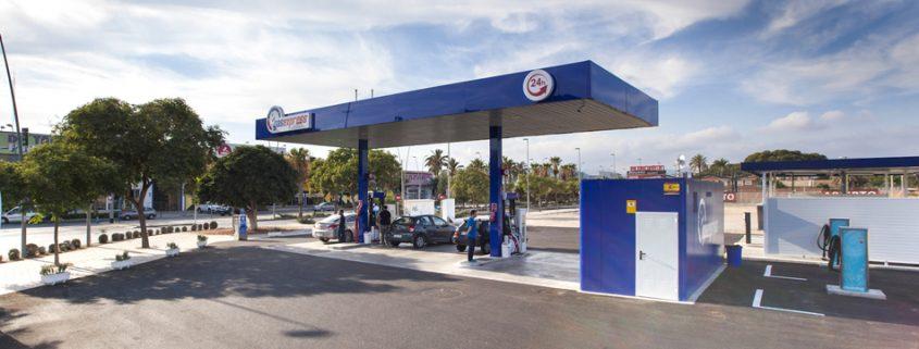 Gasexpress, gasolinera
